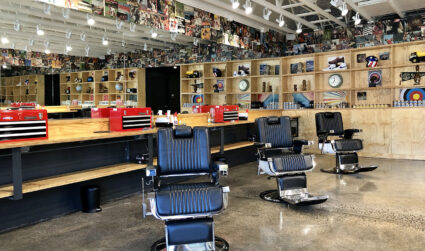 Arrow opening its second Charlotte barbershop today at Park Road