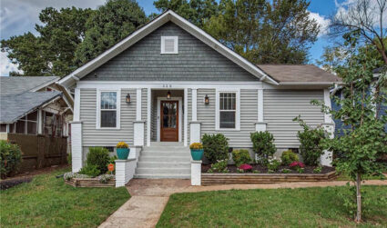 Hot homes: 5 houses for sale in Charlotte starting at $345K